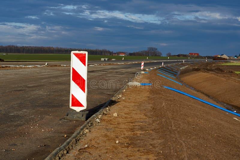 Construction de routes exprès photos libres de droits