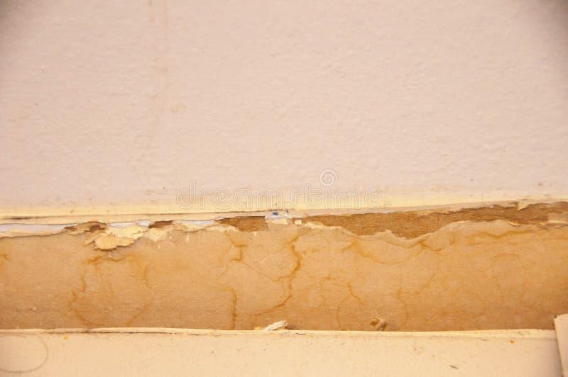 Construction de salle de bains de texture de plancher de mur photographie stock