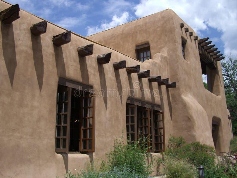 Construction de Santa Fe photographie stock