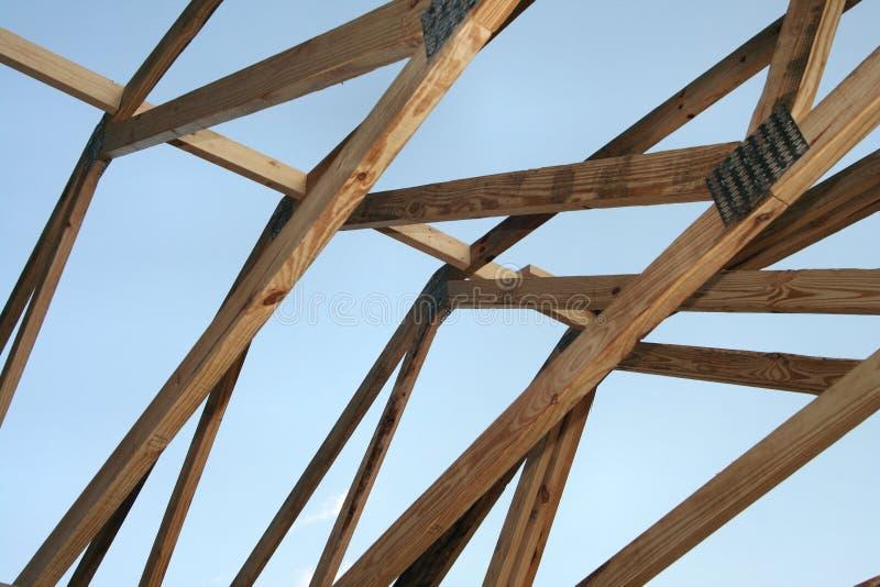 Construction de toit image stock