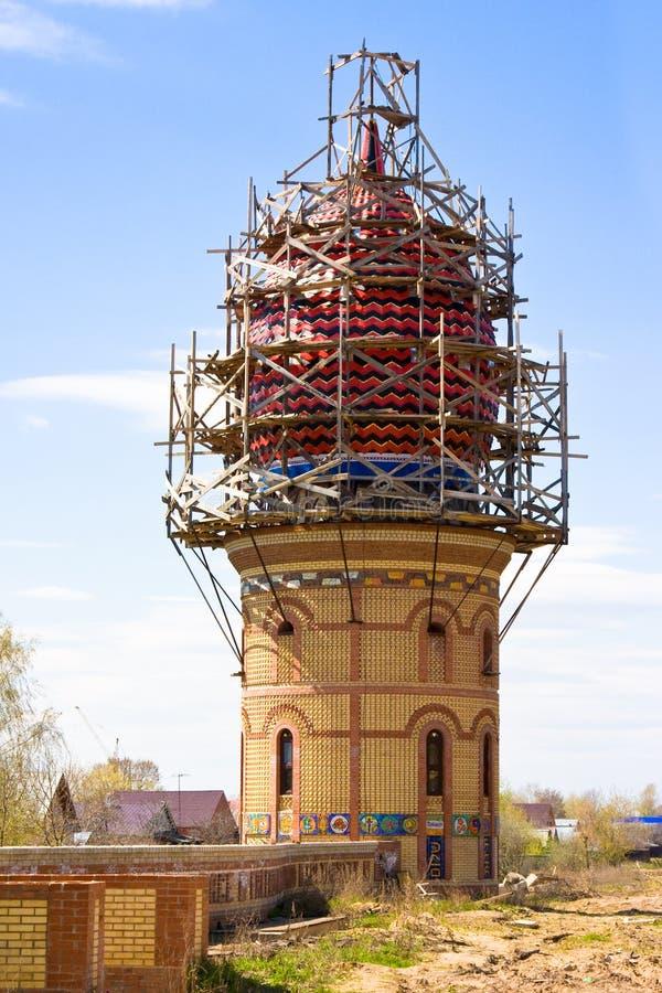 Construction de tout le temple de religions à Kazan, photo libre de droits