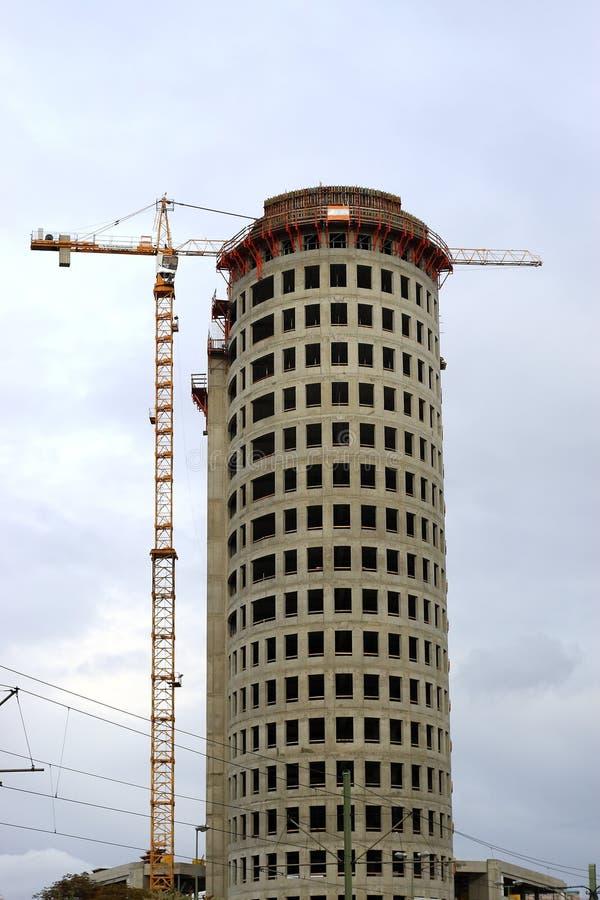 Construction des constructions images stock