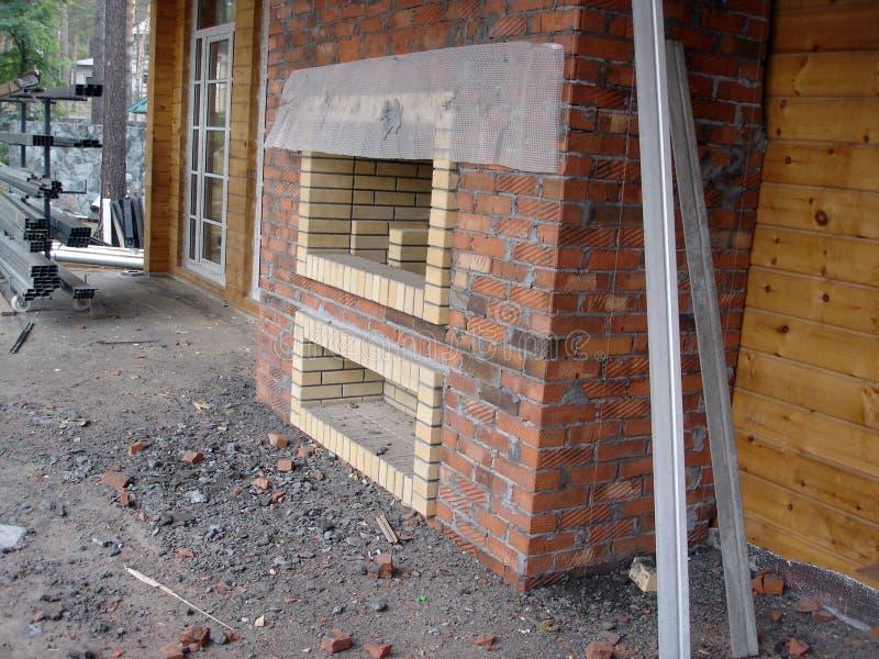 Construction des maisons photographie stock