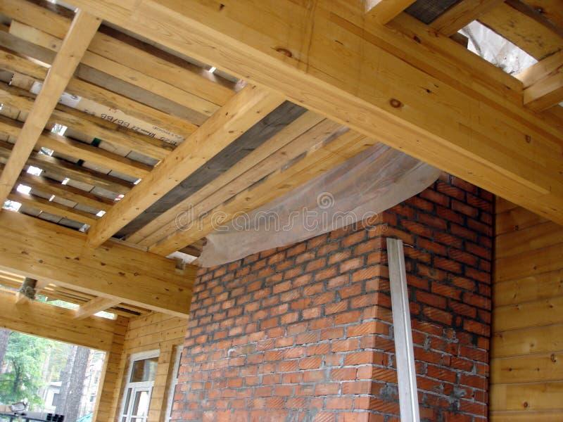 Construction des maisons images stock