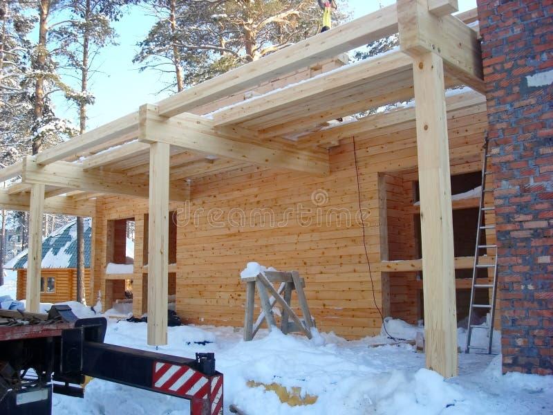 Construction des maisons images libres de droits