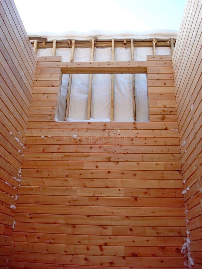 Construction des maisons photographie stock libre de droits
