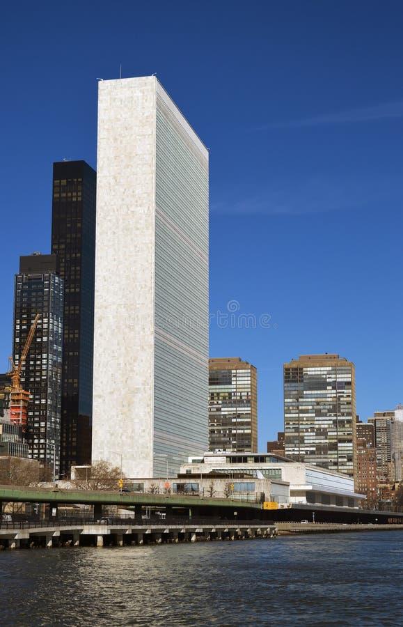 Construction des Nations Unies images stock