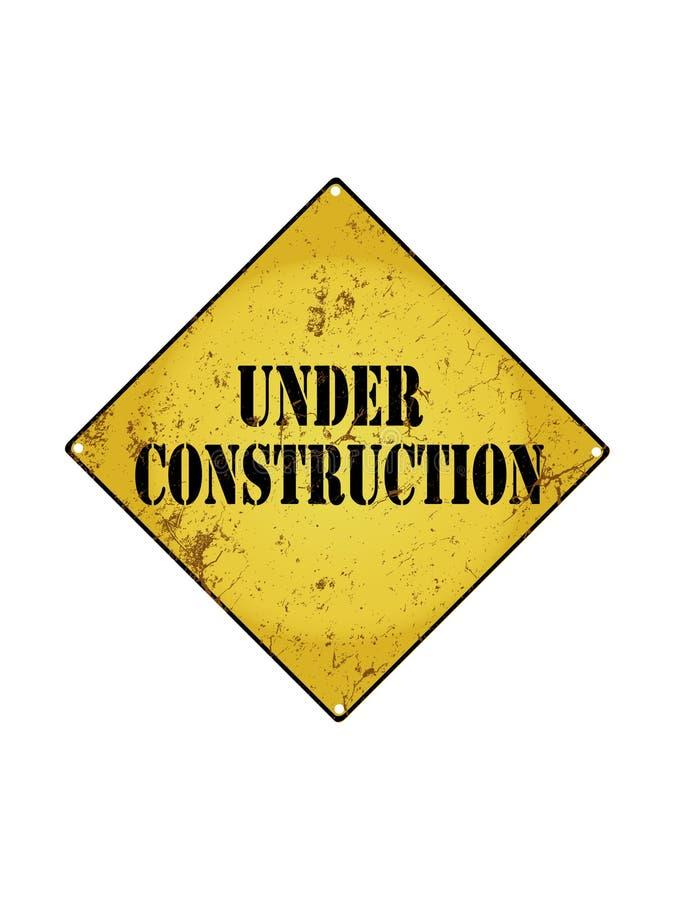 construction dessous illustration libre de droits