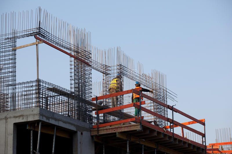 Download Construction Detail Of Next Floor Stock Photo - Image: 22343616