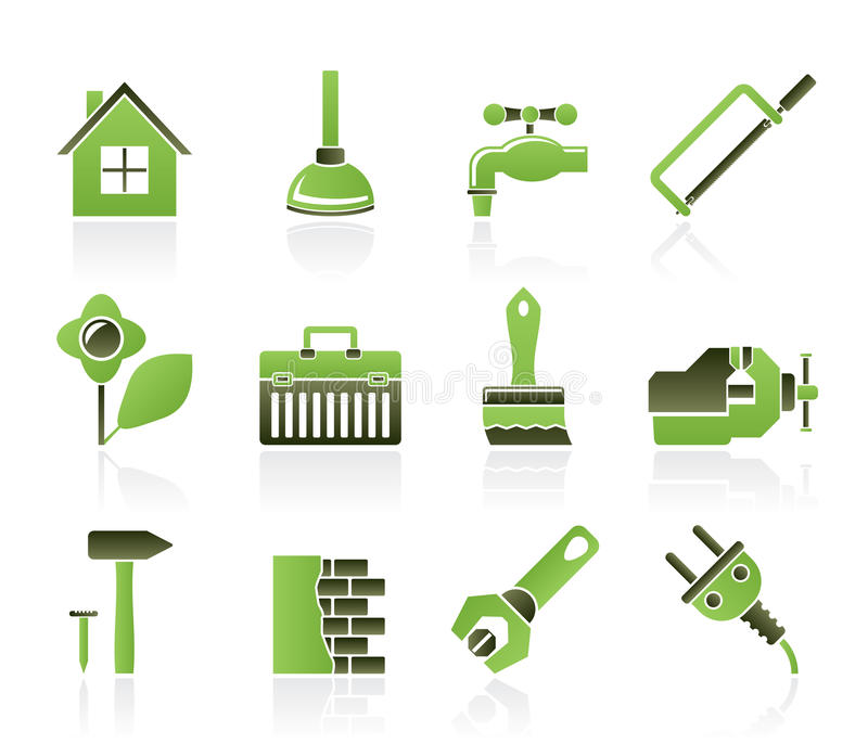 Download Construction And Do It Yourself Icons Stock Photos - Image: 19716003