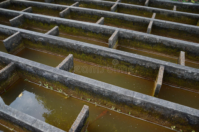Download Construction Of Drainage Water Filtration Stock Image - Image: 35115771