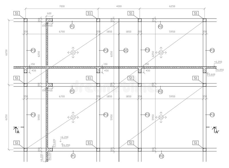Download Construction Drawing Stock Photography - Image: 11722382