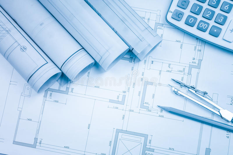 Construction drawings slide caliper roller bearings on blueprint download construction drawings slide caliper roller bearings on blueprint architecture and building concept stock photo malvernweather Gallery
