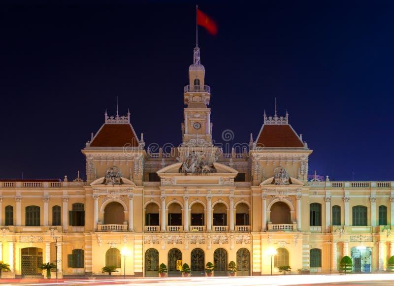 Construction du Comité de People´s, HCMC photos libres de droits