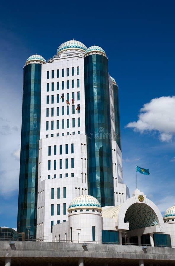 Construction du Parlement. photo stock
