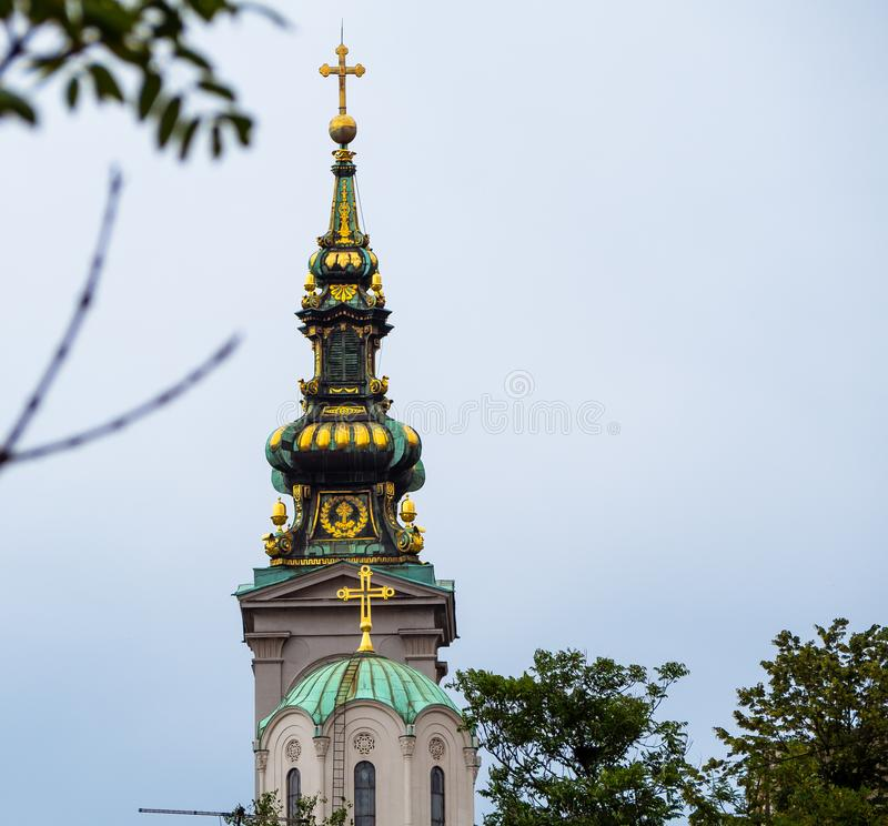Construction du patriarcat, Belgrade image libre de droits