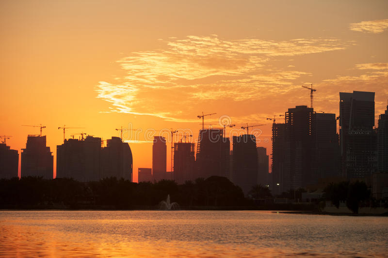 Download Construction In Dubai Stock Photography - Image: 23066662
