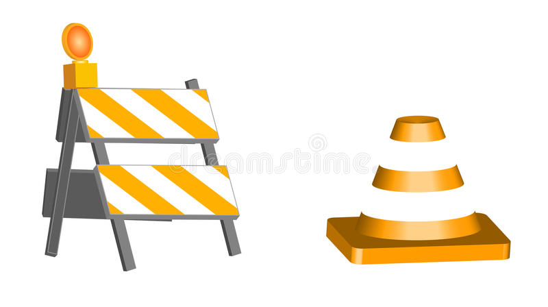 Construction Elements Royalty Free Stock Photography
