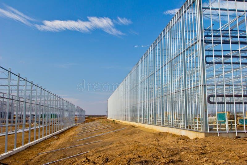 Construction en acier image libre de droits