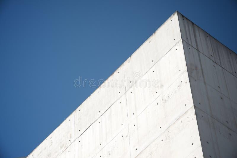 Construction en béton moderne photographie stock