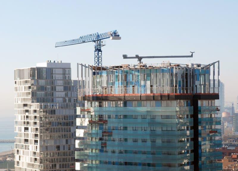 Construction en cours image libre de droits