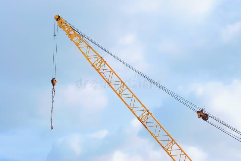 Download Construction En Métal De Grue De Crochet Photo stock - Image du constructeur, environnement: 8653242