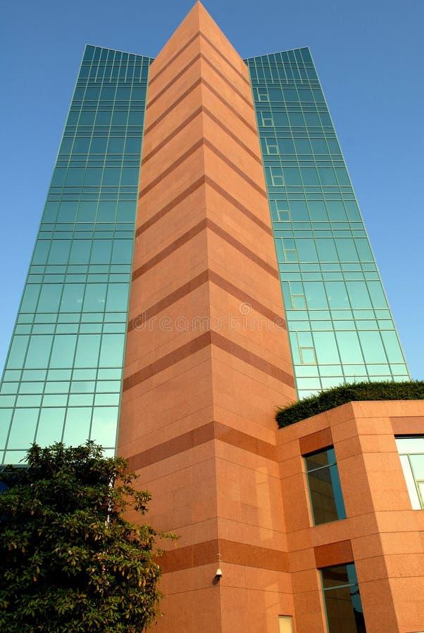 Construction en verre photo libre de droits