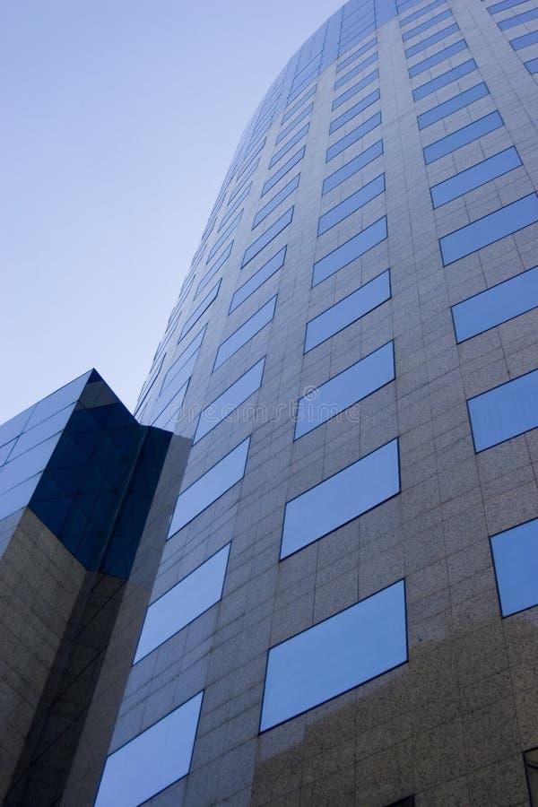 Construction en verre moderne photo stock