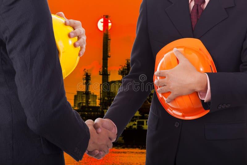 Construction engineer royalty free stock photos