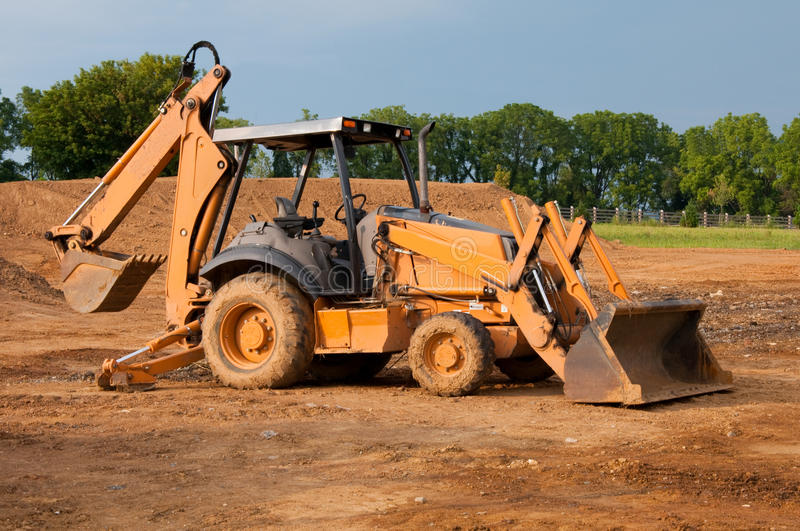 Construction equipment stock images