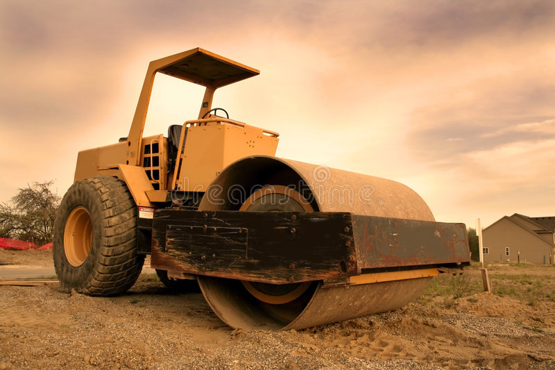 Construction Equipment royalty free stock images