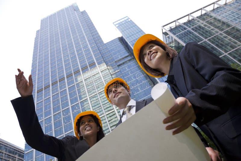 construction executive team στοκ εικόνες
