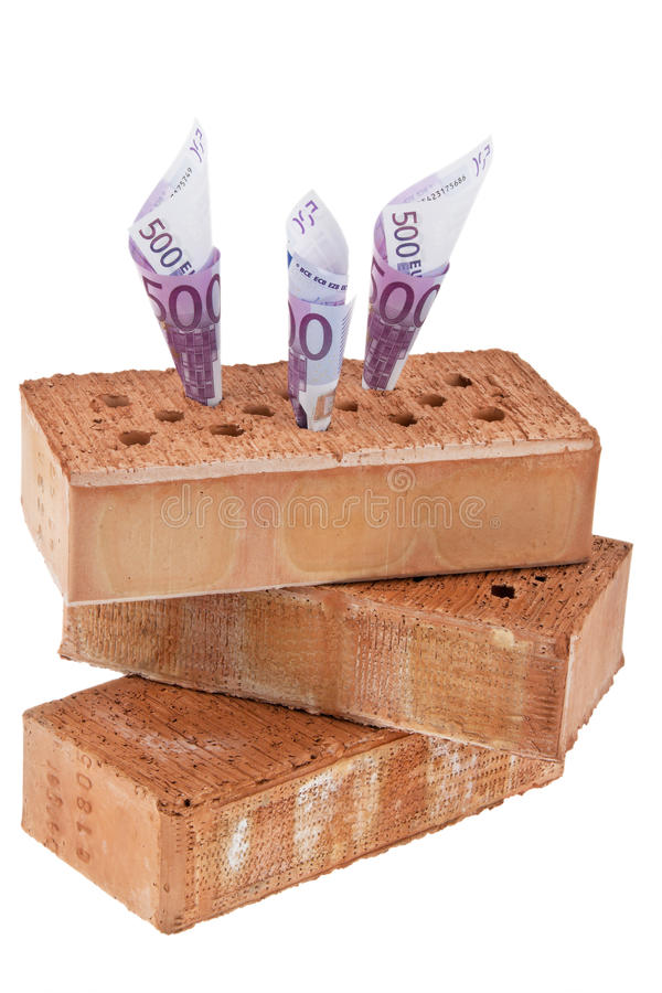 Construction, Financing, Building Society. Royalty Free Stock Photo