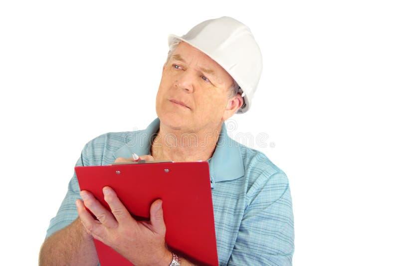 Construction Foreman stock photos