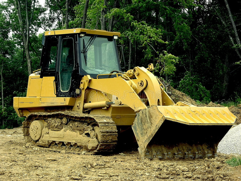 Download Construction - Front Loader Royalty Free Stock Photos - Image: 173698