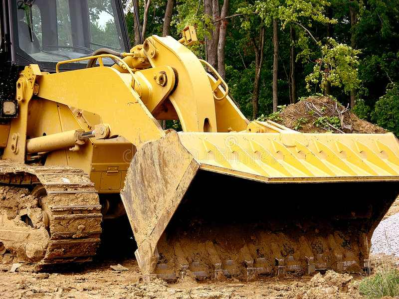 Download Construction - Front Loader Scoop Stock Photo - Image of load, clay: 173724