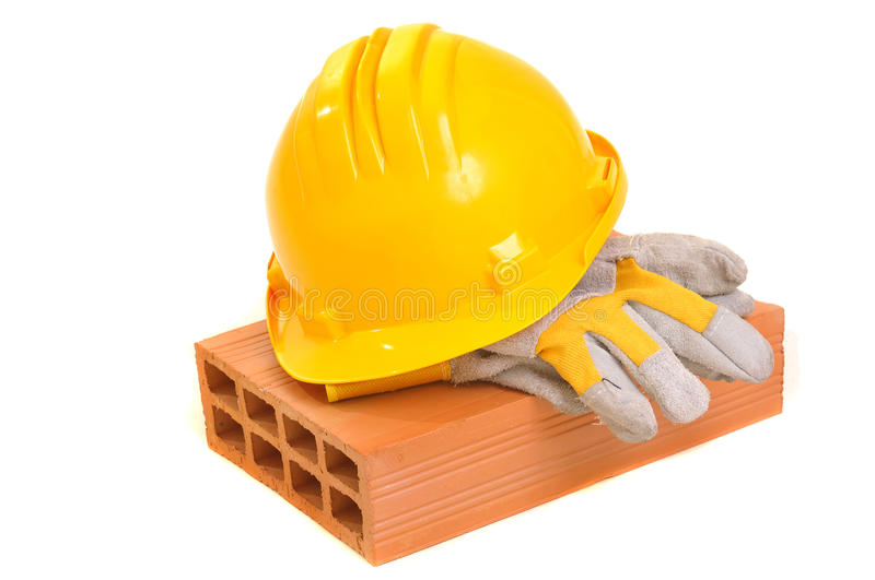 Construction gear royalty free stock images