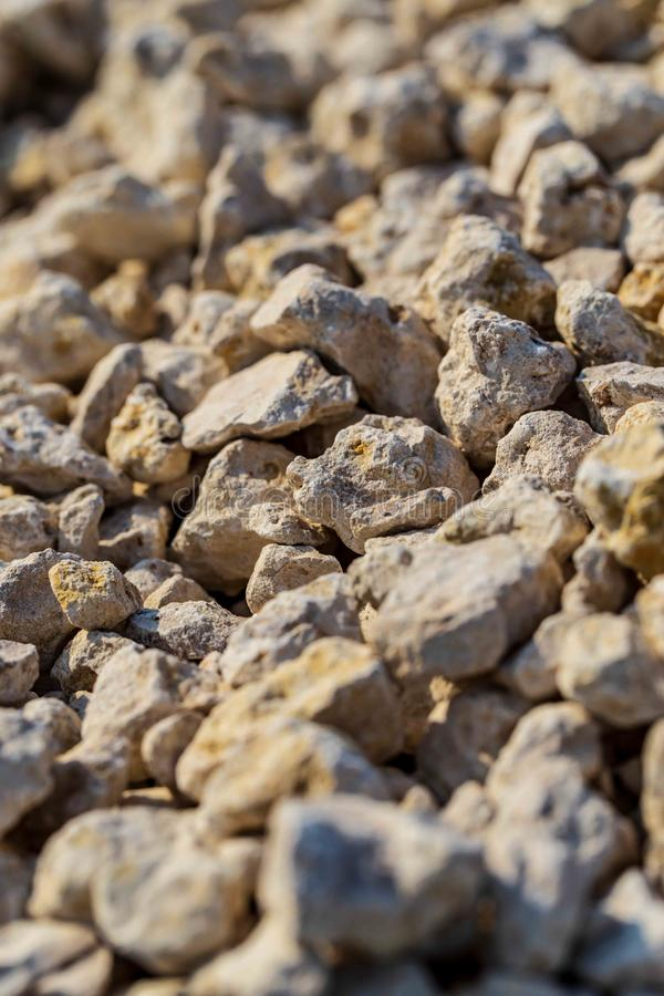 Construction gravel as abstract background royalty free stock image