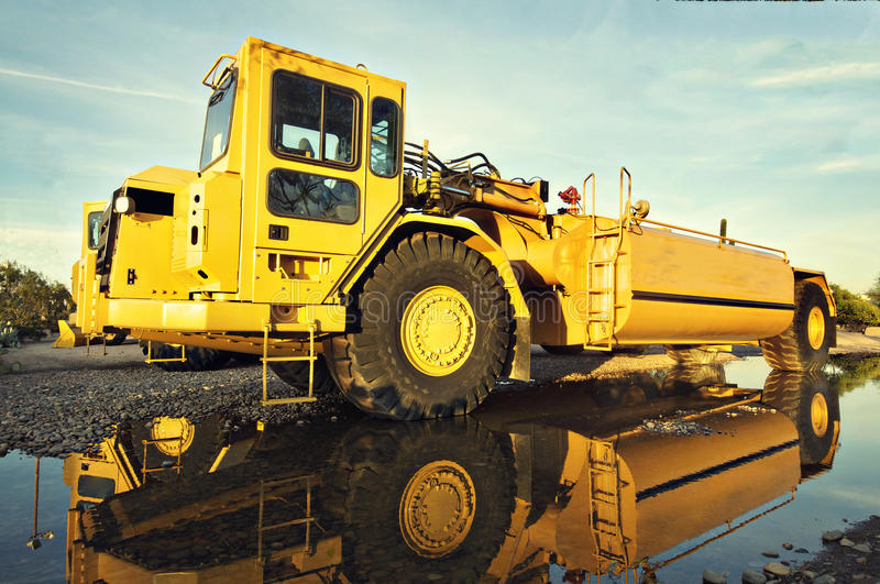 Construction heavy duty vehicle equipment stock photography