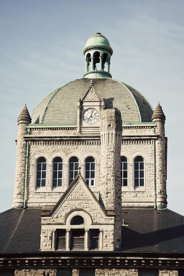 Construction historique à Lexington image libre de droits