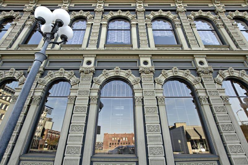 Construction historique à Salem du centre Orégon 2 images stock