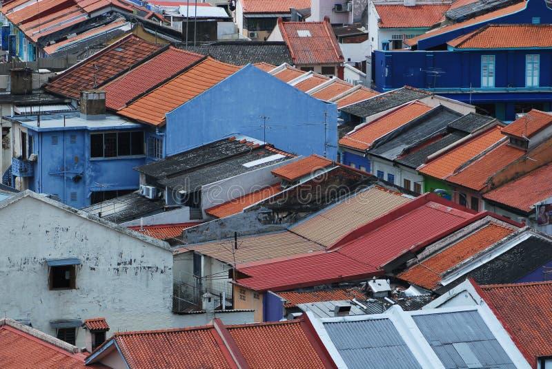 Construction historique à Singapour photo libre de droits