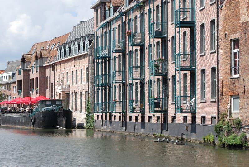 Construction historique (Mechelen) image stock