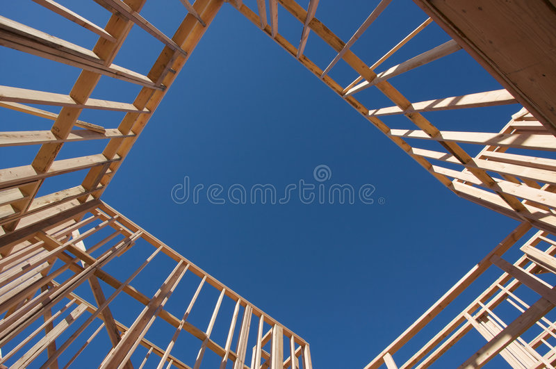 Download Construction Home Framing. stock photo. Image of carpenter - 4299566