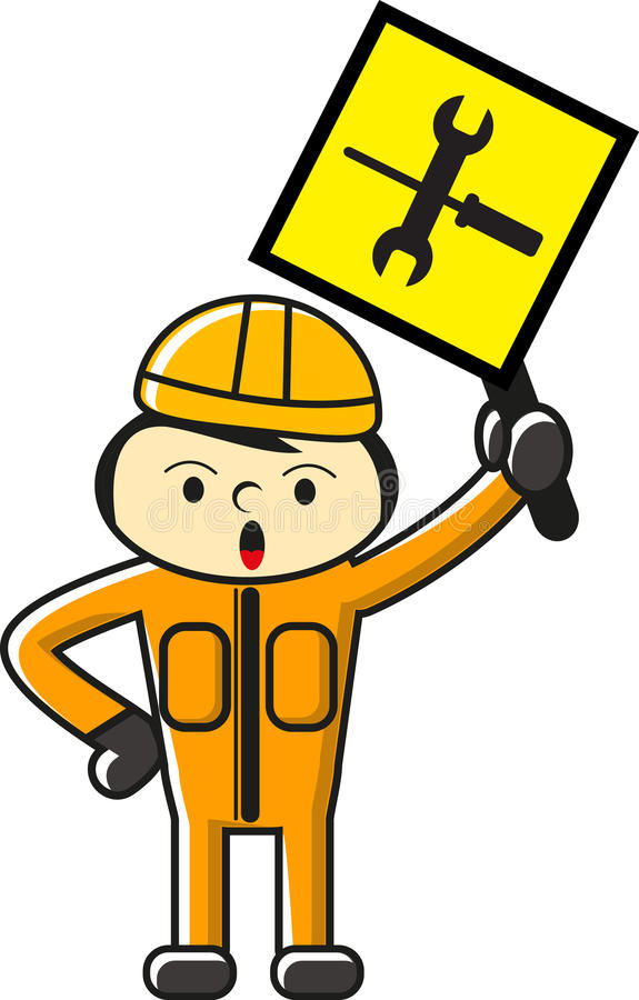 Download Construction icon stock illustration. Image of character - 23496729