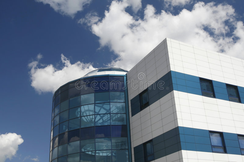 Construction industrielle moderne photo stock