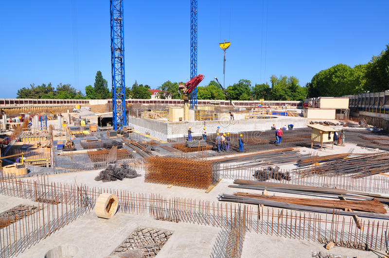 Download Construction Of International Olympic University Editorial Stock Image - Image: 23053634
