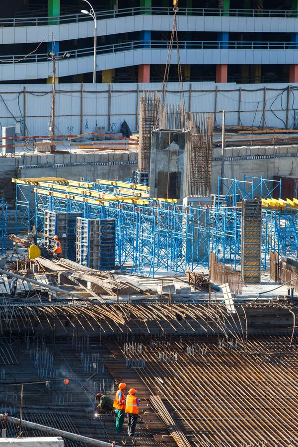 Construction Of A Large Multi-storey Commercial Building