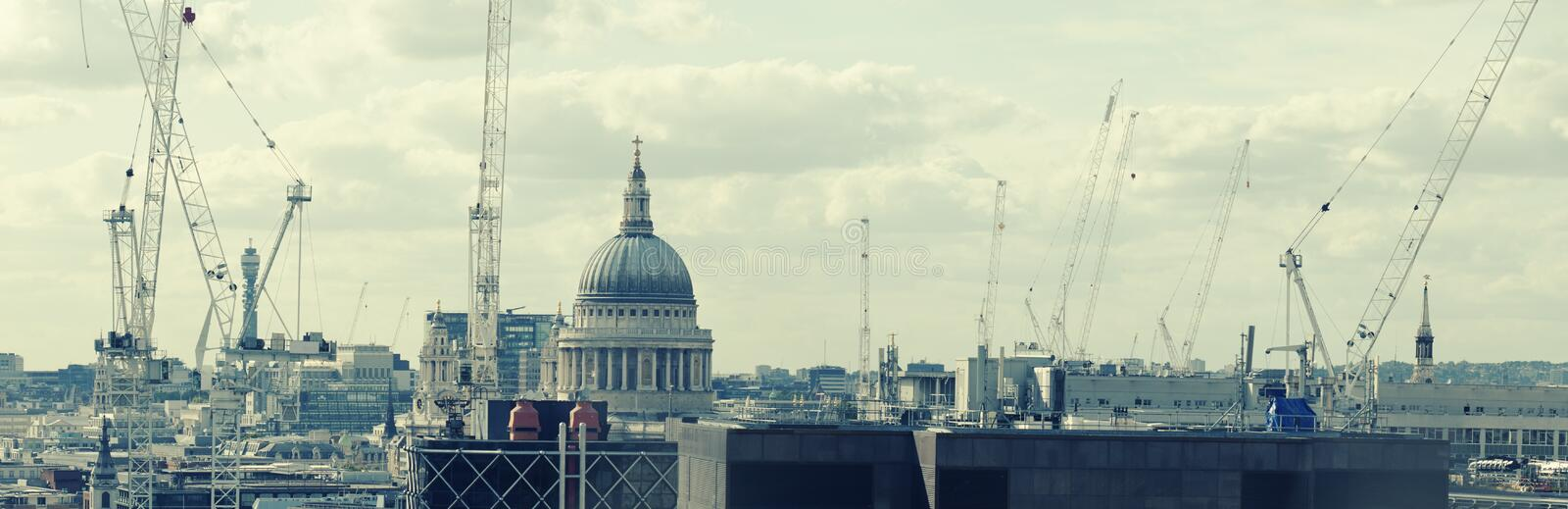 Download Construction in London stock image. Image of development - 11185295