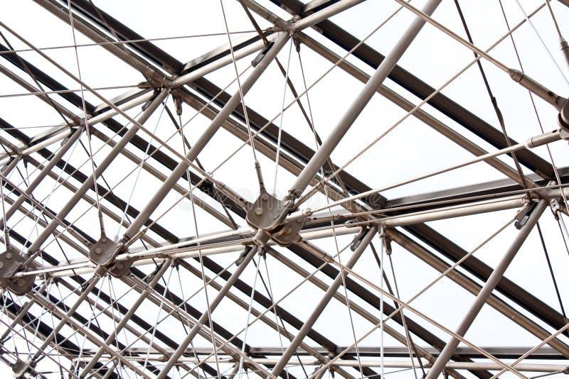 Construction métallique image libre de droits